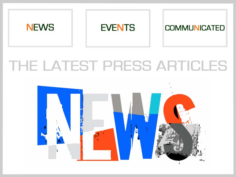 News - Events - Communicated